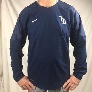 Nike M Dri-Fit Tampa Bay Rays wind shirt